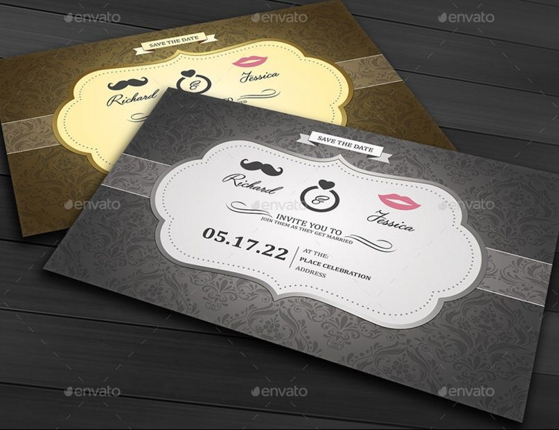 20+ Engagement Invitation Template Word, InDesign and PSD Format - invitation template for word