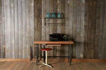 Reclaimed wood desks and home office furntiure ideas for michael