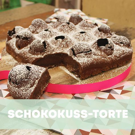 Sweet Easy Enie Backt Schokokuss Torte Backen Pinterest