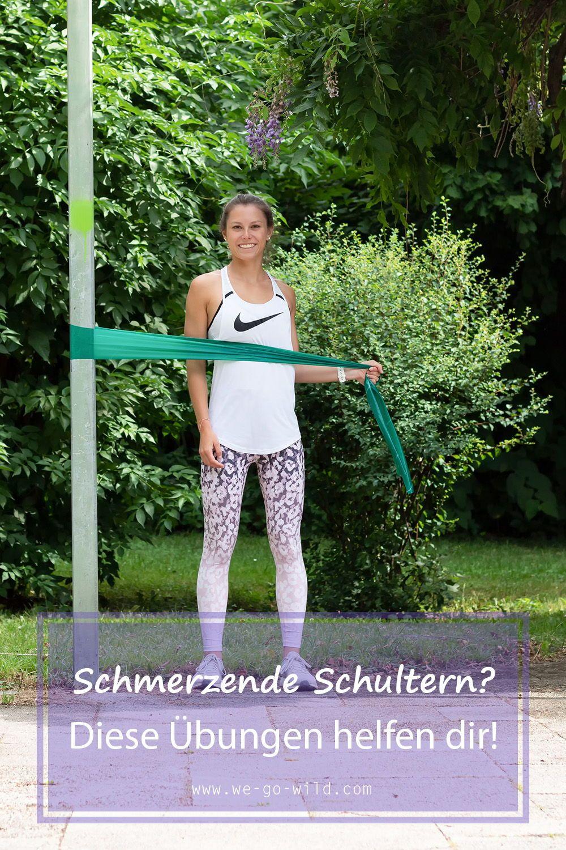 Mit Theraband Übungen Schulter und Rücken stärken! – WE GO WILD
