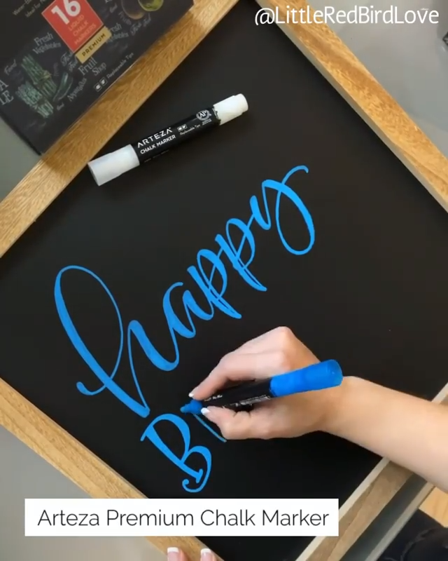 Photo of Easy Hand Lettered Birthday Decor
