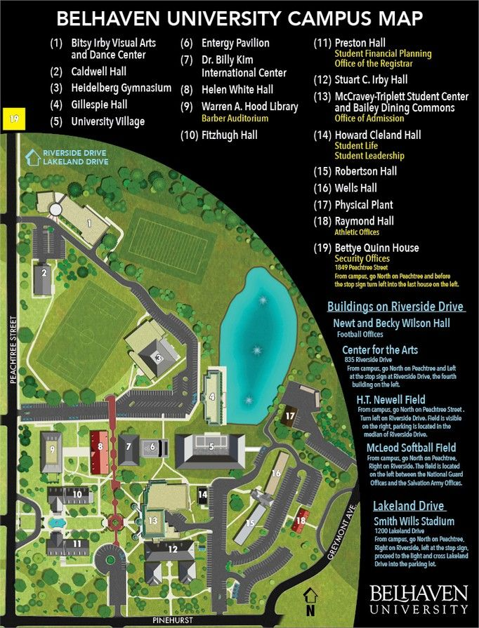 hood college campus map Campus Map University Campus Campus Map Campus hood college campus map