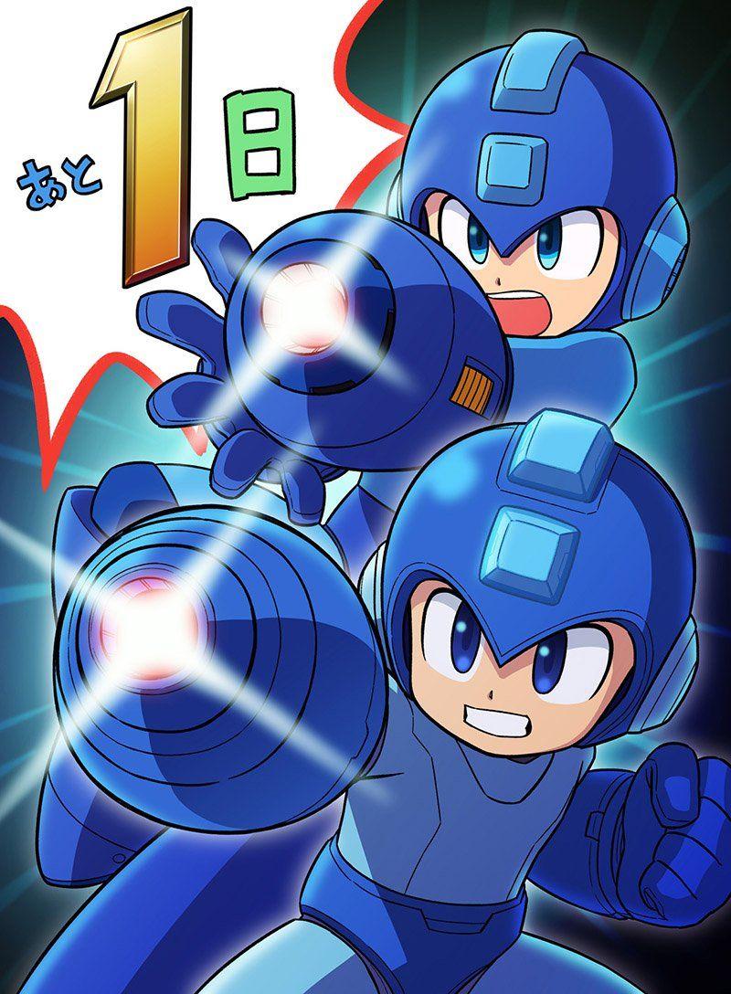 Rockman Corner Mega Man And Mega Man Countdown To Super Smash Bros Ultimate Mega Man Art Mega Man Super Smash Bros