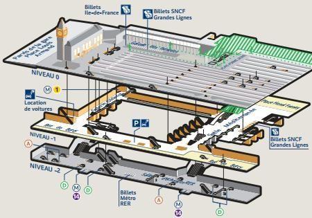 Carte Gare De Lyon | Maps | Pinterest | Lyon