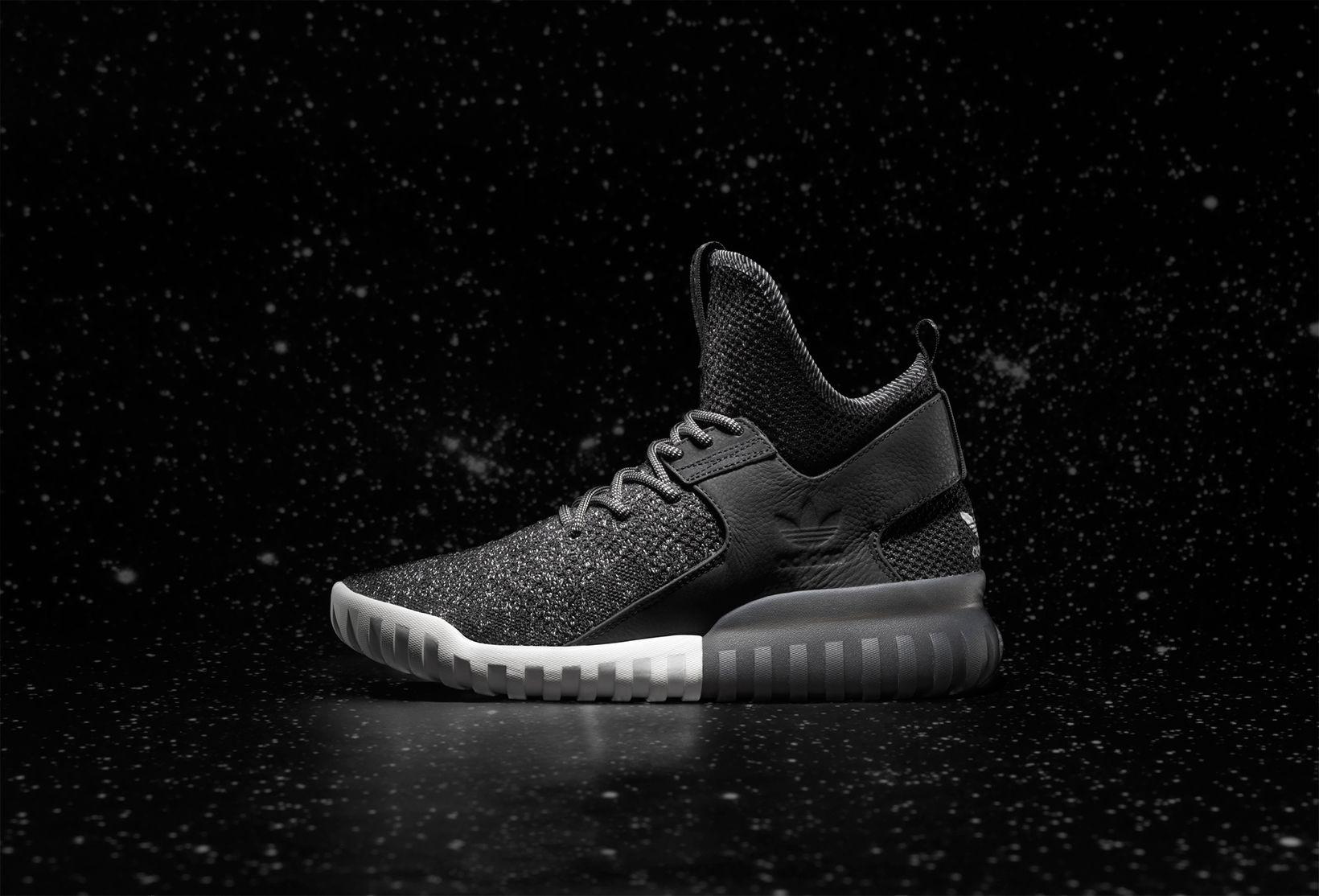 Adidas Originals Tubular the X Primeknit 'Glow in the Tubular Dark' Negro 65c439