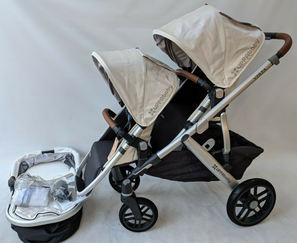 Uppababy Vista Double stroller 2018/2019 Loic white