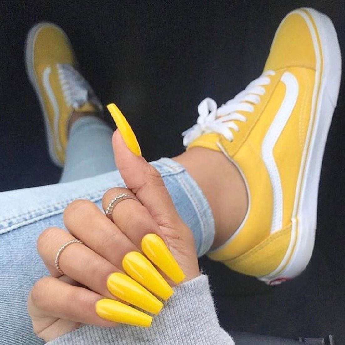 scarpe vans gialle