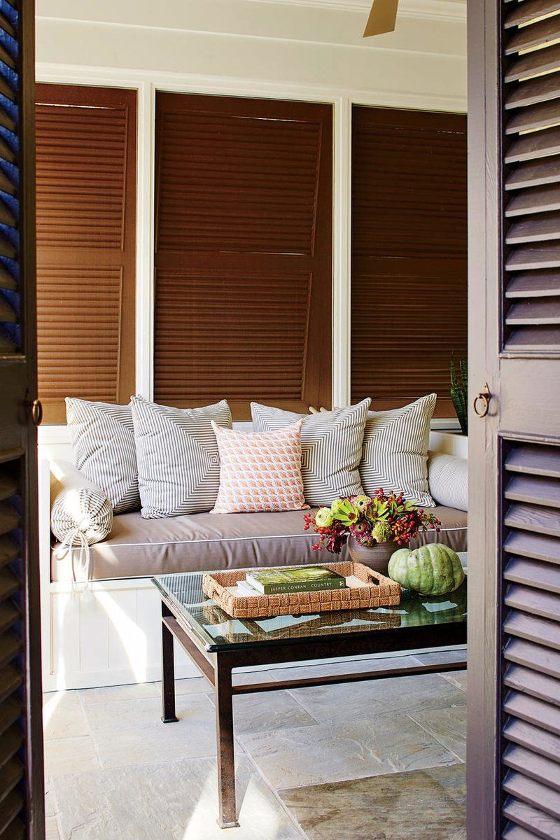 Porch with Daybed This Nashville Couple Showed
