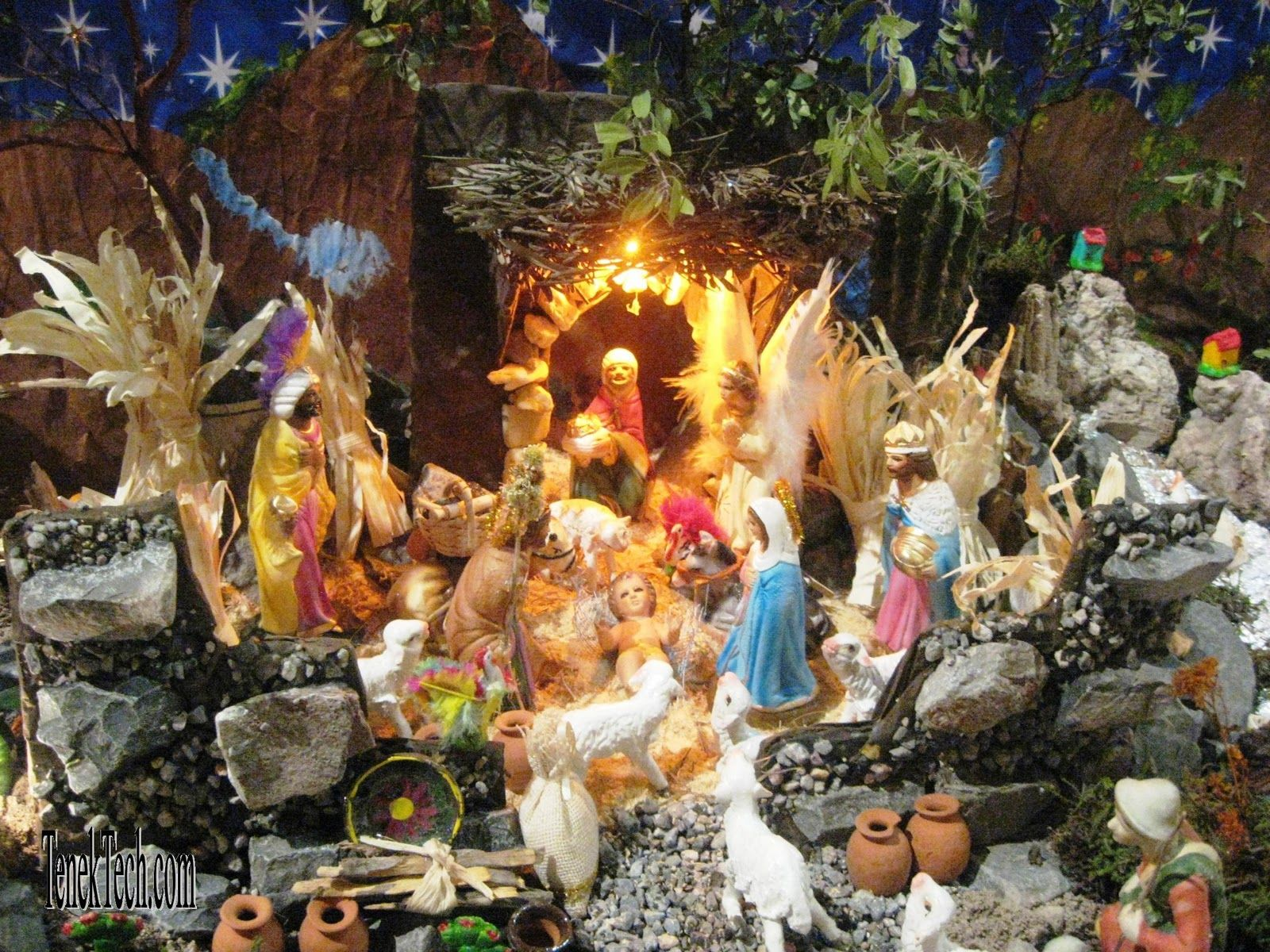 191 best christmas nativities creches images on pinterest