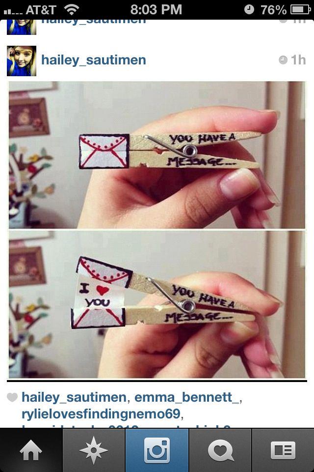 Super cute idea(: