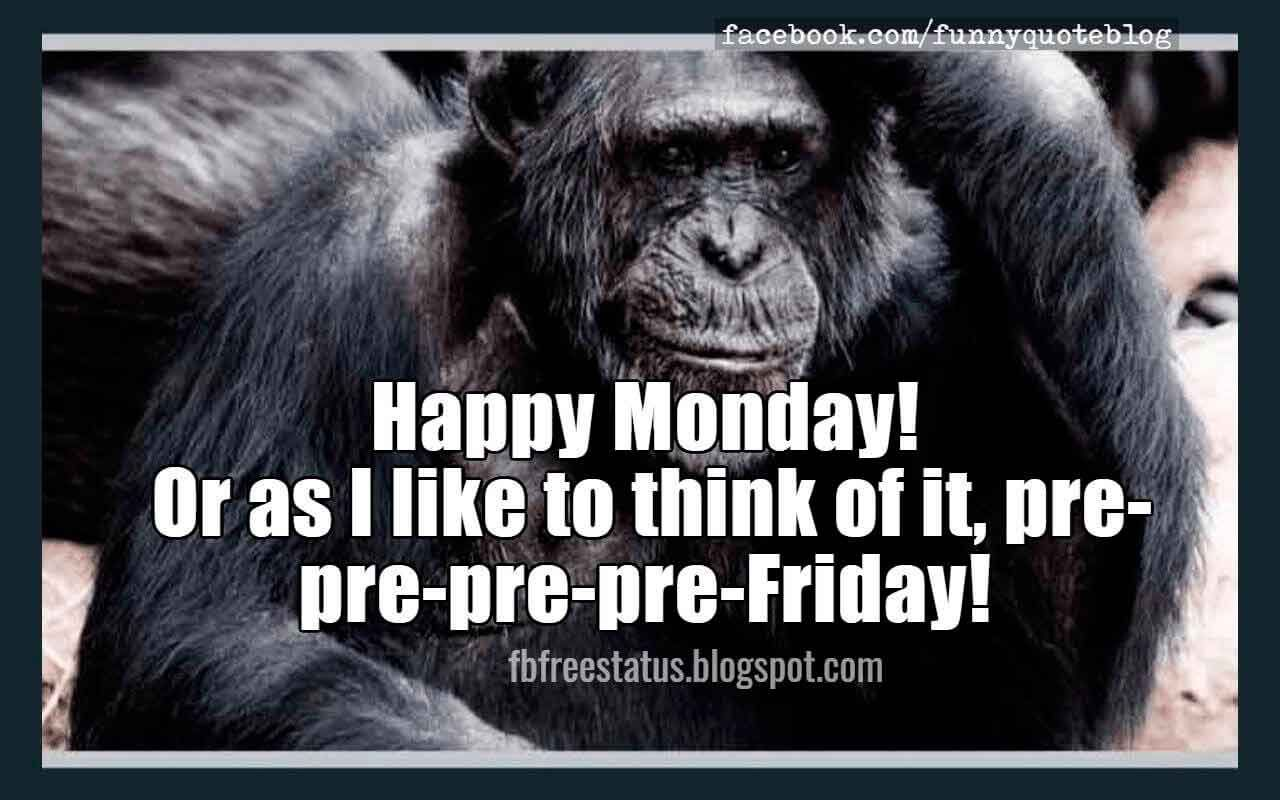 Funny Monday Quotes to be Happy on Monday Morning Monday