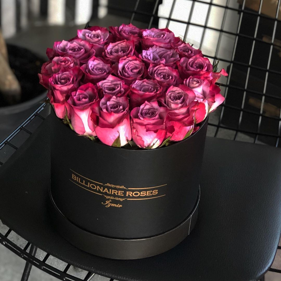 Billionaire Roses Pinky Rose Pinky Flower Boxes