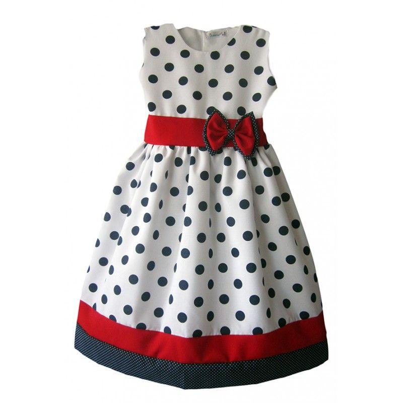 vestido pepas para niñas - Buscar con Google  7a91f21f33e1