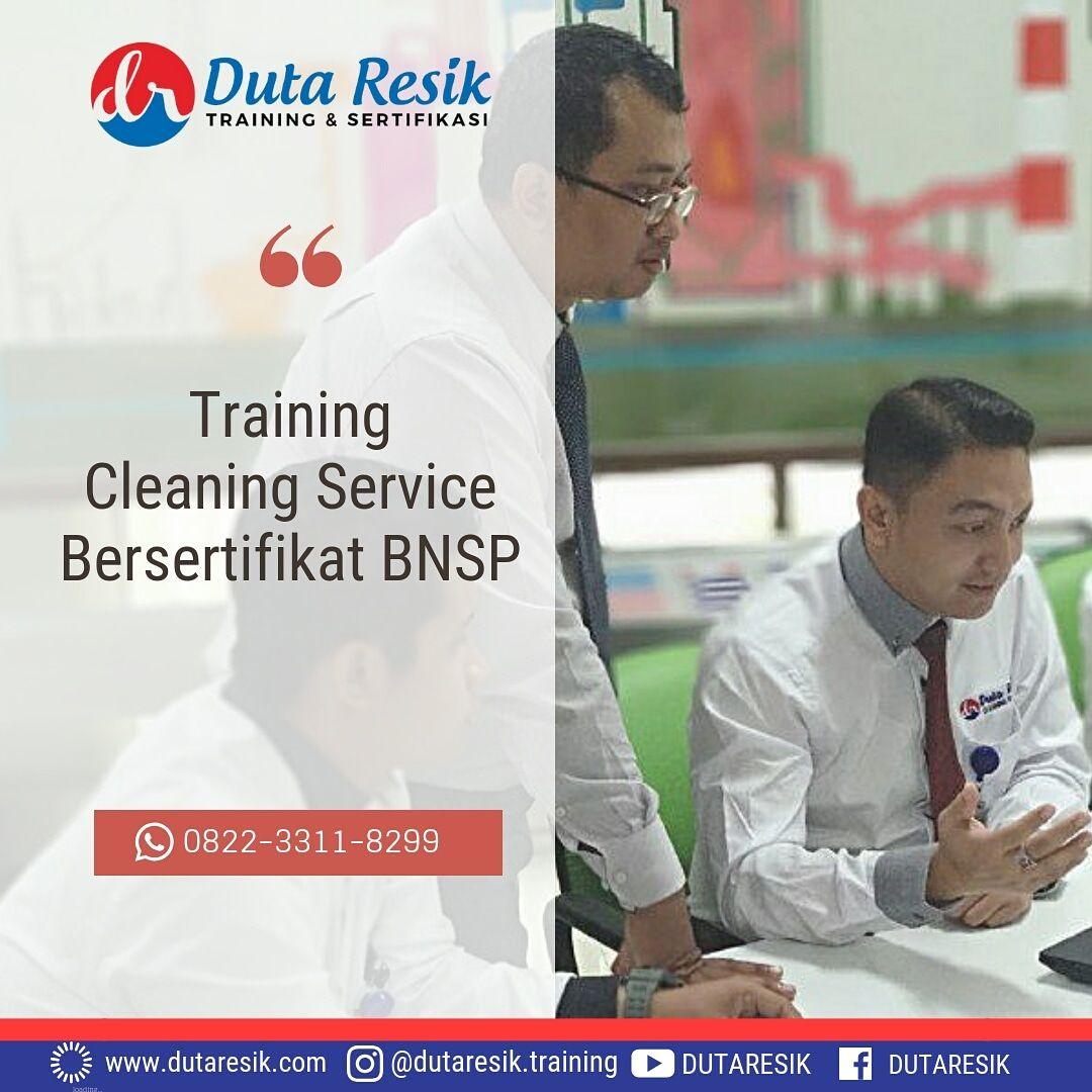 Training cleaning service indonesia, pelatihan training