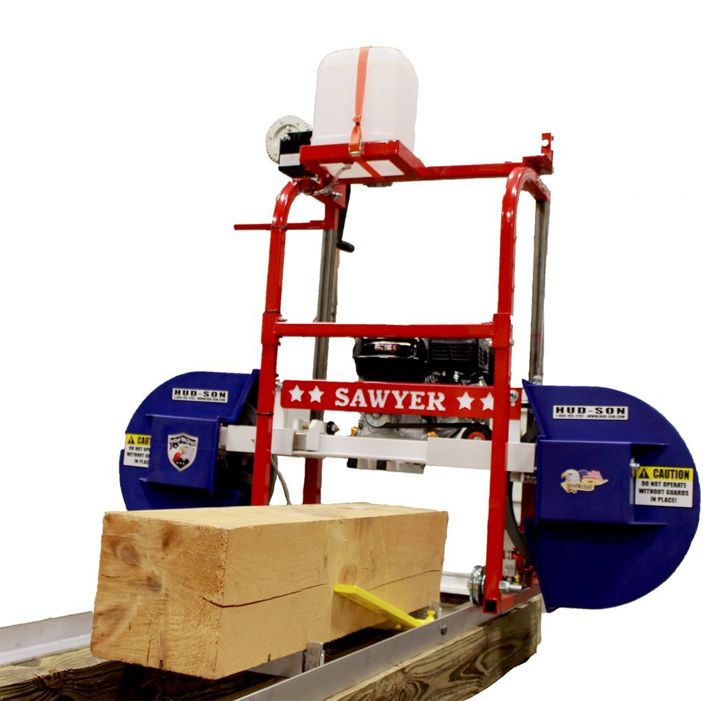 Hfe21 homesteader sawmill Bandsaw mill, Woodworking