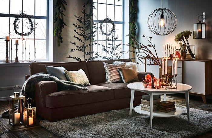 Thea soffbord, mio 1995 kr 52 hög, 90 bred vardagsrum Christmas decorations, Home Decor