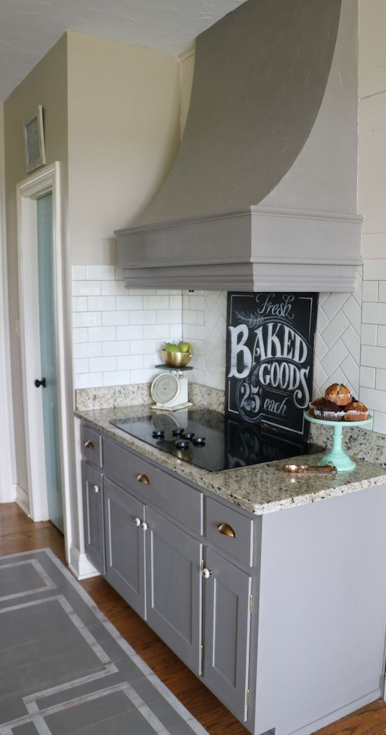 Best Why I Repainted My Chalk Painted Cabinets Rustic Kitchen 400 x 300