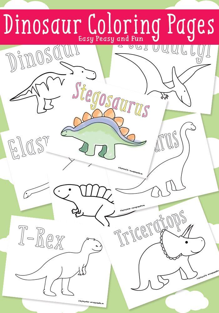 Dinosaur Coloring Pages Dinosaurus Feestje Dinosaurus Kleurplaten
