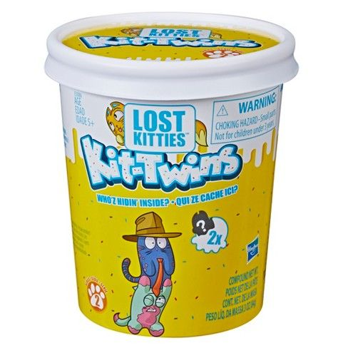 Lost Kitties Kit Twins Toy Kitty Bunny Mom Blind Bags