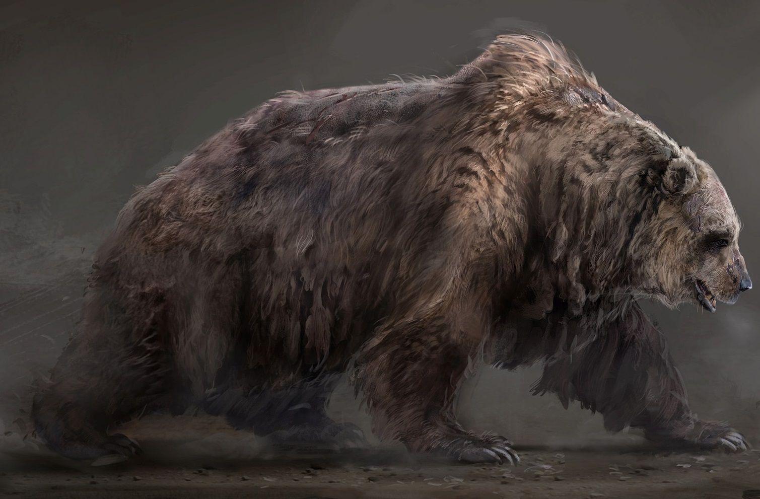Prehistoric Cave Bear Bear Artwork Creature Art Bear Art