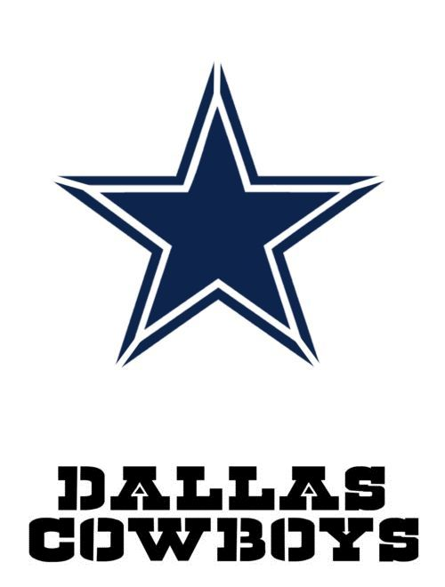 Stencils And Templates 183185 Dallas Cowboy Font Logo Stencil 10 Mil Reusable Patterns It Now Only 30 On Ebay