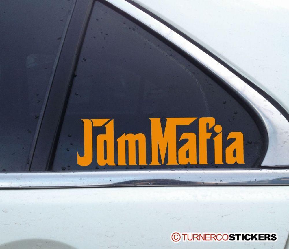 Jdm Mafia Japanese Japan Car Scene Sticker Decal Jdm Japan Cars Retro Cars [ 860 x 1000 Pixel ]