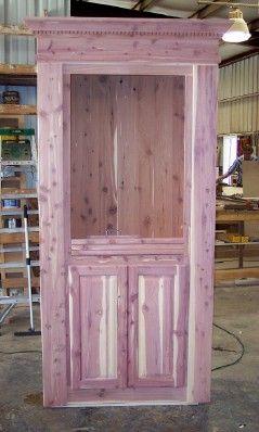 Door With Raised Panel Cabinet Doors