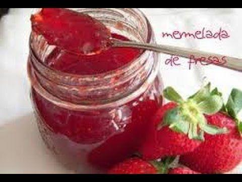 Receta: Mermelada casera de fresas -- Vídeo receta (Paso a paso) - YouTube