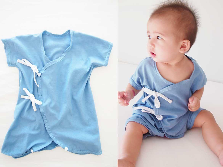 Another Baby Kimono Sewing Pattern - Onesie Version | Kleidung nähen ...