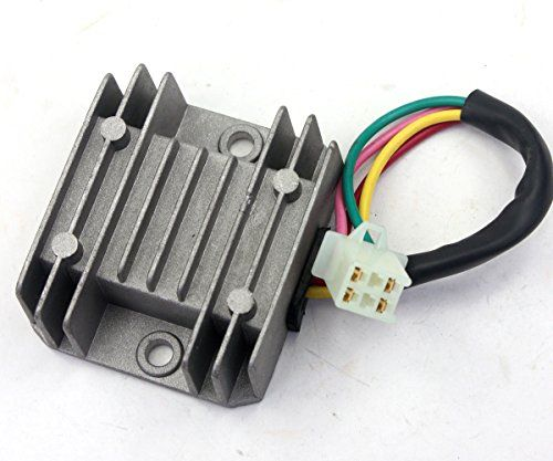 4 Wires Voltage Regulator Rectifier Gy6 50 150 Scooter Moped Atv Jcl Nst Taotao You Can Find Out More Details At The Link Of Th 150cc Scooter Scooter 150cc