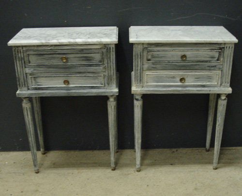 Pair of french bedside cabinets my bedroom pinterest bedside pair of french bedside cabinets watchthetrailerfo