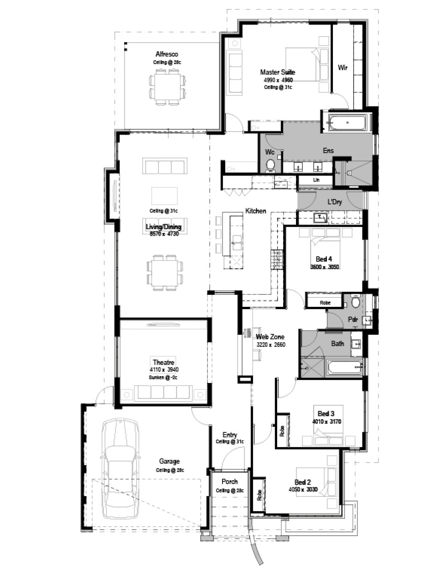 Waldorf Grange House Plan Luxury Home Design: The Waldorf Display Home By National Homes
