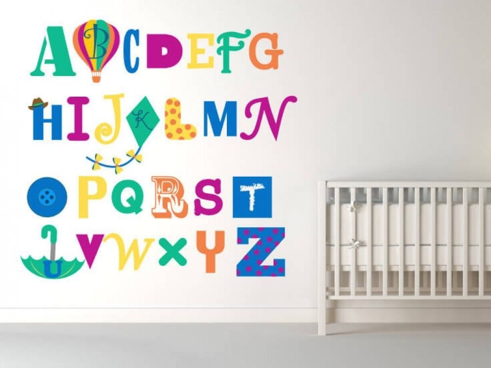 Abc S For Me Alphabet Nursery Wall Decals Inspire Your Little