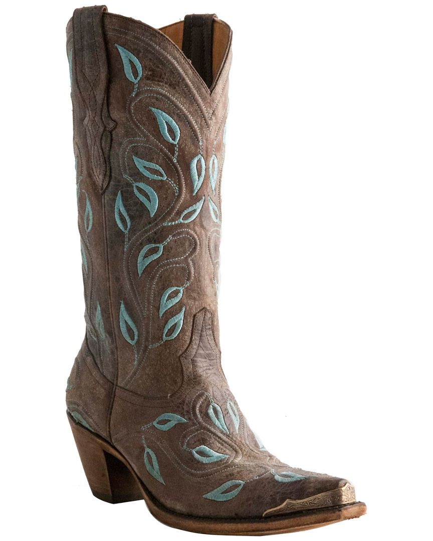 "Lucchese Women's ""Veronica"" Leather Western Boot    is on Rue. Shop it now."