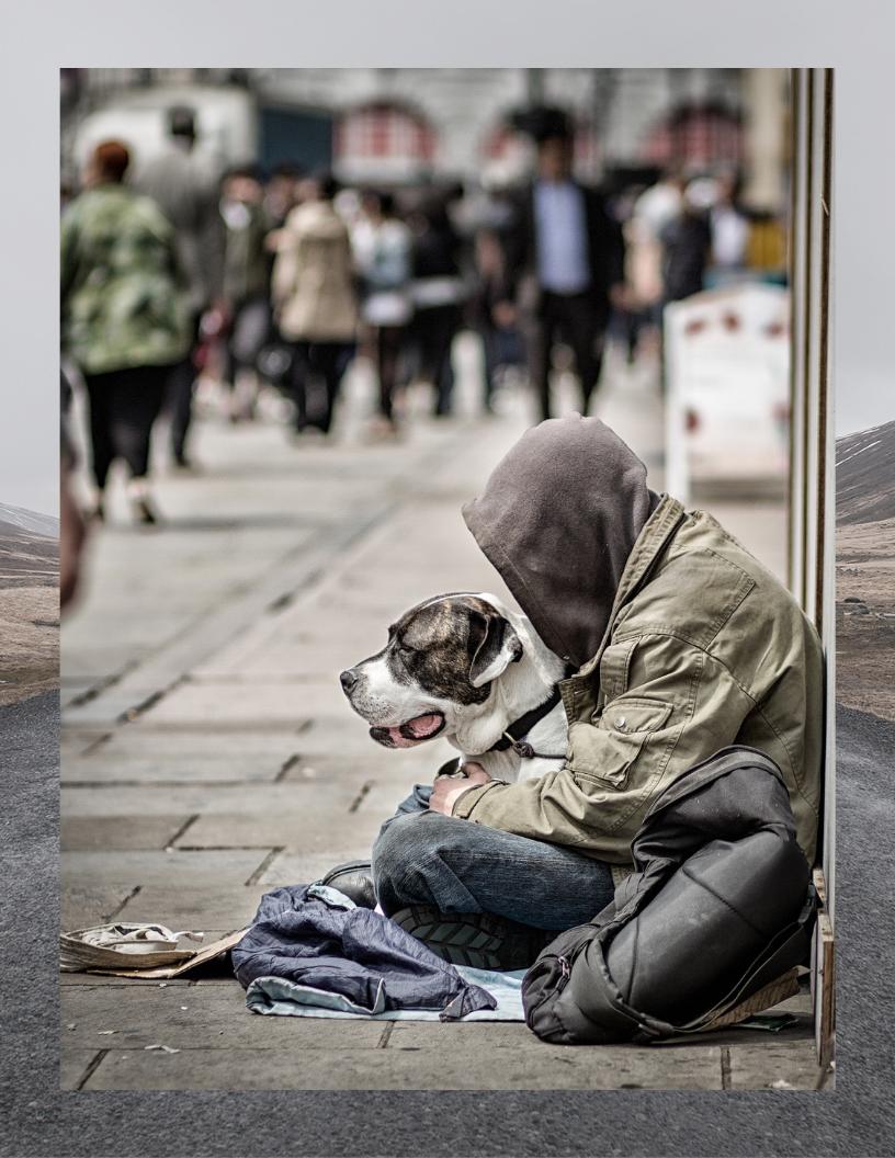 Man S Best Friend Homeless Man Dog Projects Dog Adoption