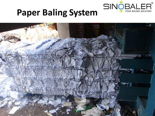 Paper Baling System, Paper Baler System - SINOBALER