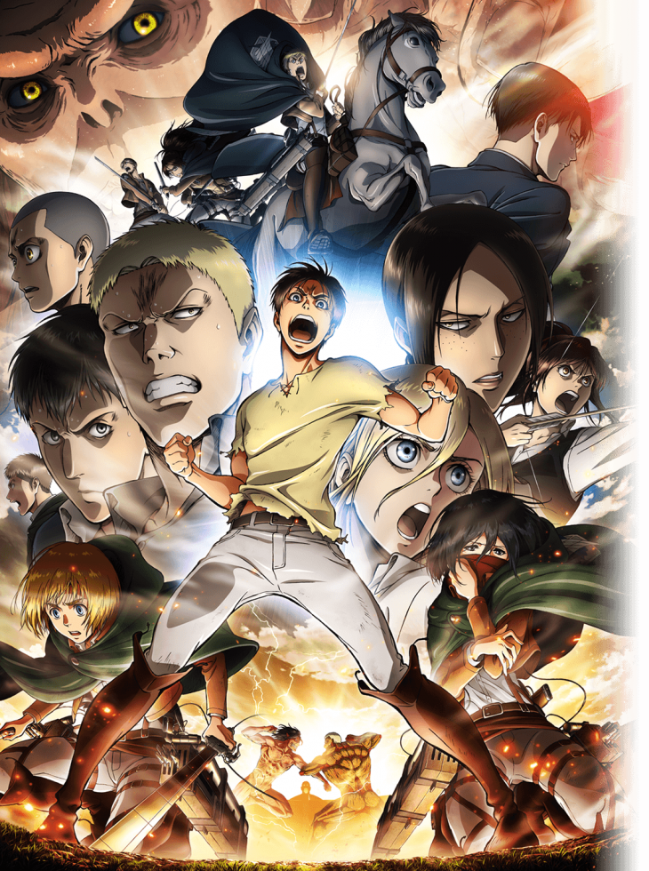Shingeki no Kyojin Season 2 Hetalia Attack on titan
