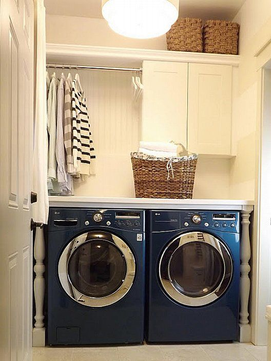 Pictures Of Laundry Room Makeover On A Budget For Small Space