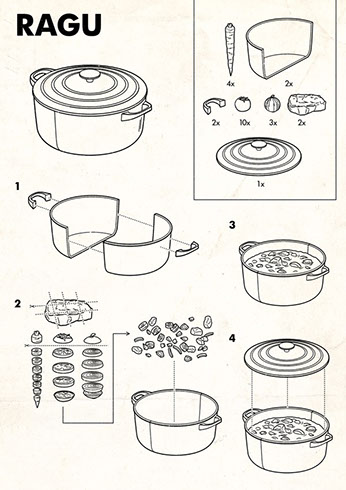 tobatron illustration ikea diagram instructional graphics