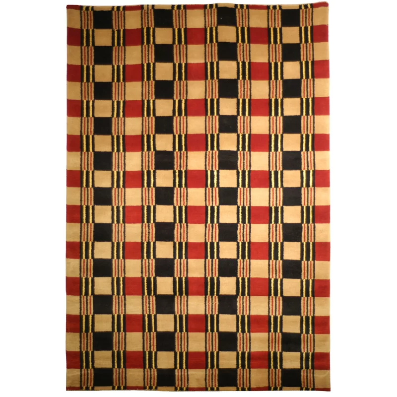 Lexington Hand Knotted Wool Red Area Rug Wool Area Rugs Rugs Red Area Rug