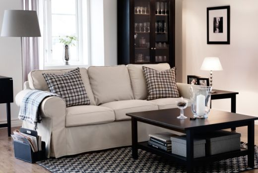 IKEA Fabric sofas Easy and simple, I have items that look very - ikea ektorp gra