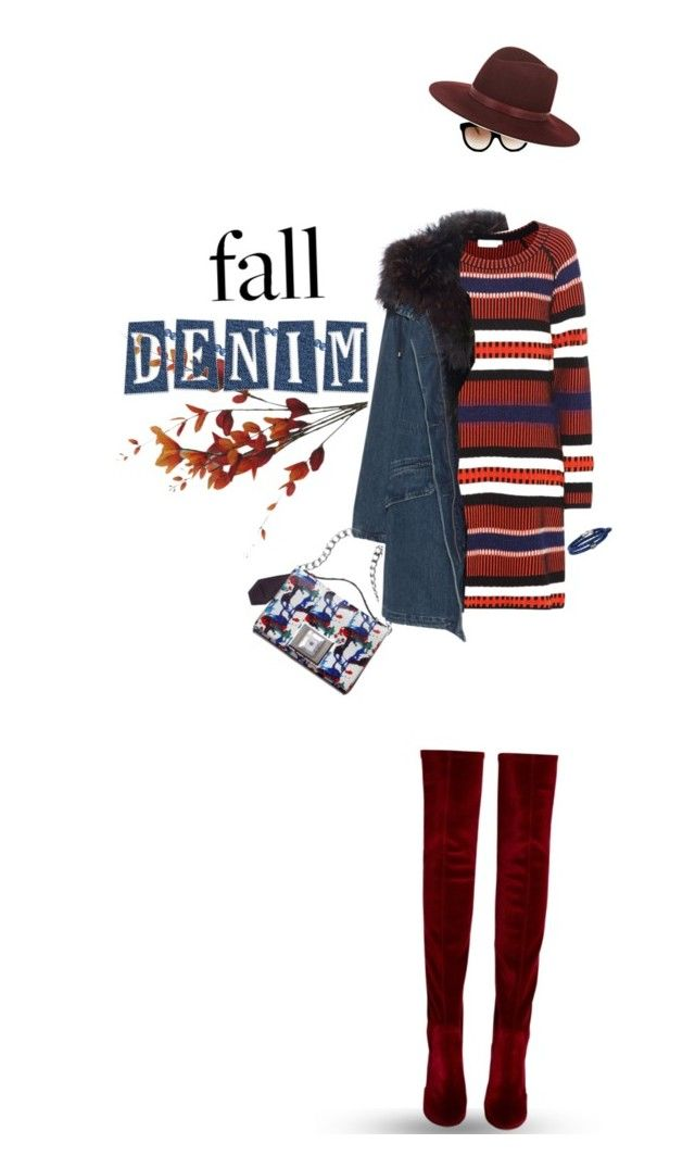 """""""Hello Fall 2016"""" by joanna46-1 ❤ liked on Polyvore featuring Italia Independent, Tory Burch, Andrew Gn, Janessa Leone, Aquazzura, Yves Salomon and Phillip Gavriel"""