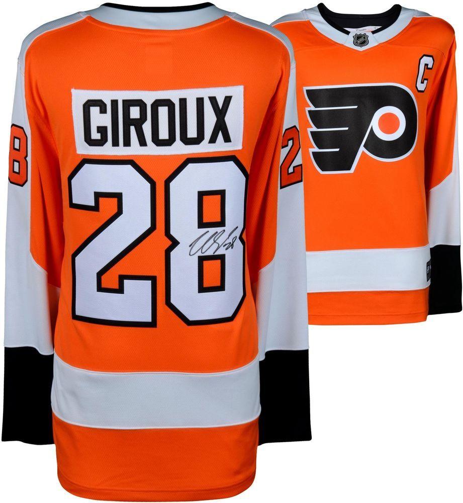 Claude Giroux Flyers Autographed Orange Fanatics Breakaway Jersey - Fanatics  Philadelphia Flyers a2b0e9ae4