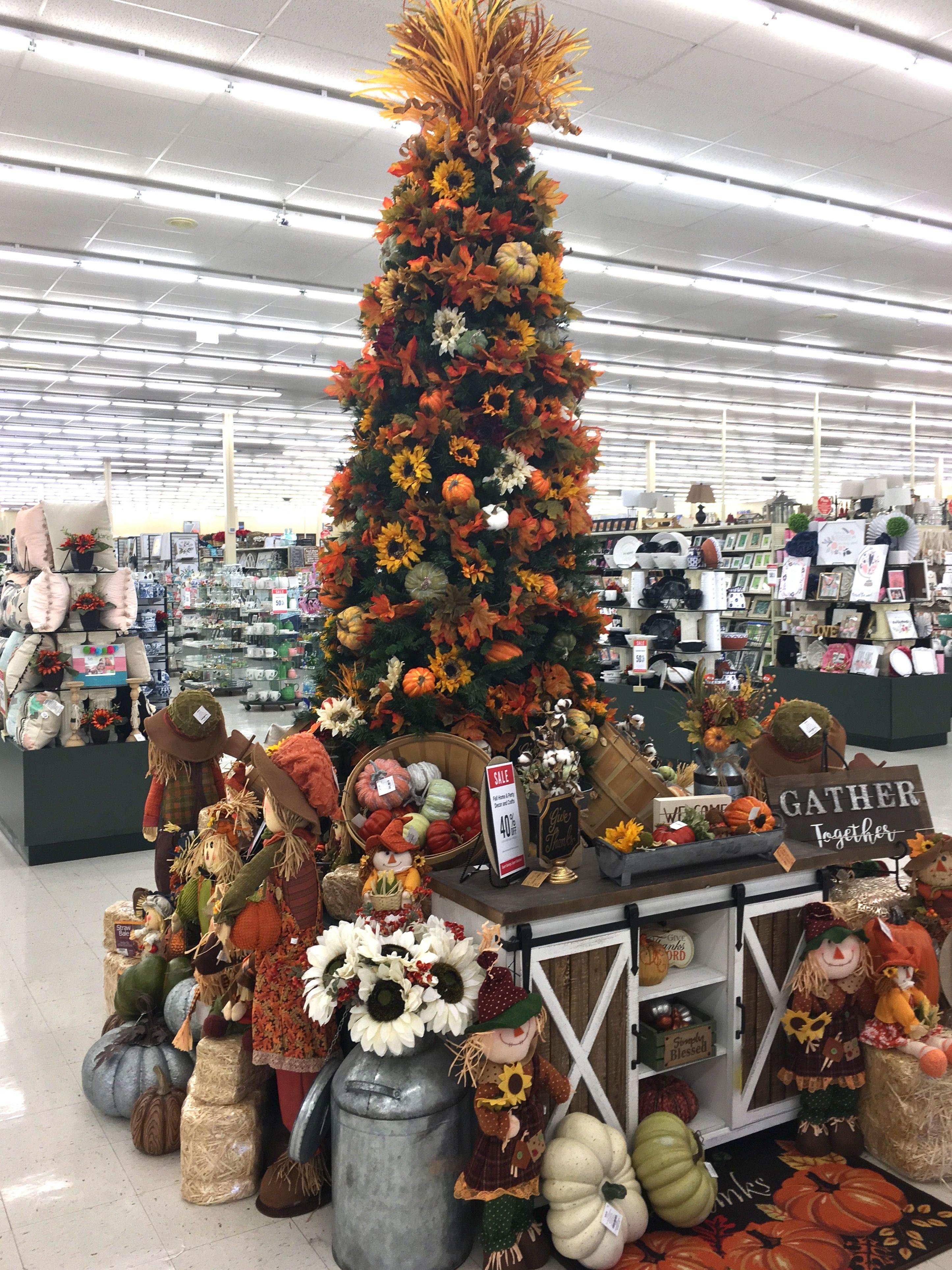 New Fall display   Hobby lobby fall decor, Hobby lobby displays ...