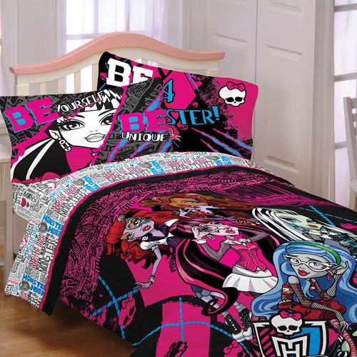 Merveilleux Monster High Bedroom Decor | Monster High Bedding And Bedroom Decor