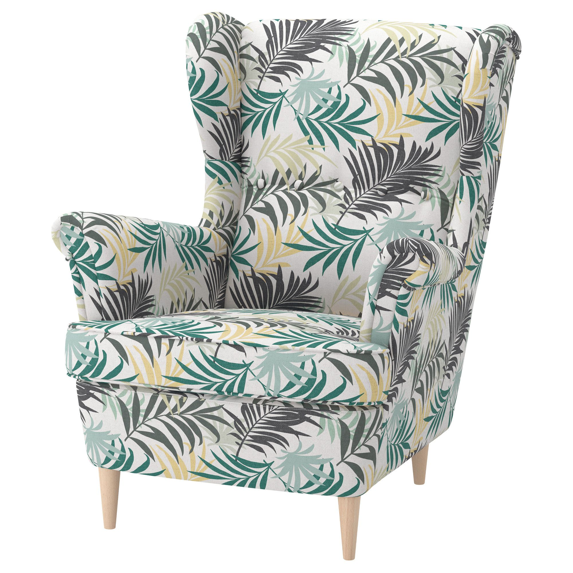 STRANDMON Wing chair Gillhov multicolor Ideas for M in