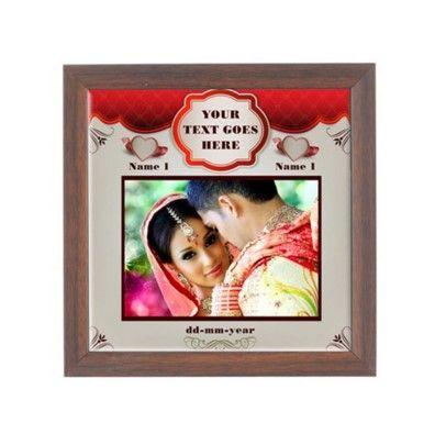 Wooden Frame Tiles Photo Frames Online Petra Gifts Kerala Online Photo Frames Frame Wooden