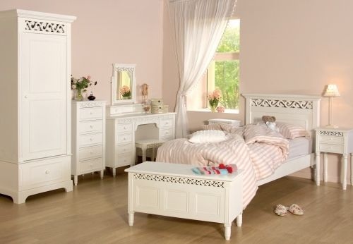 Shabby Chic White Bedroom Storage Box Ebay Uk Girls White Bedroom Set Childrens Bedroom Furniture Bedroom Sets