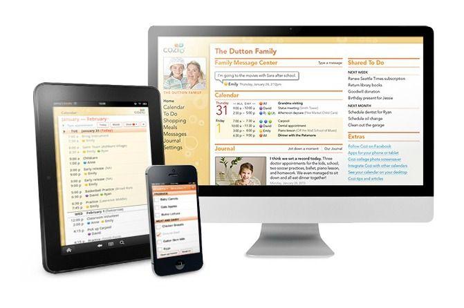 Cozi_Family Calendar_App Family organizer, Family