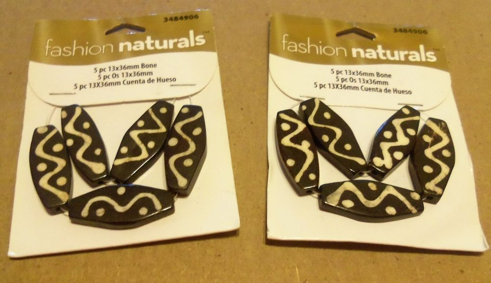 BONE BEADS CRAFTING JEWELRY MAKING #FashionNaturals